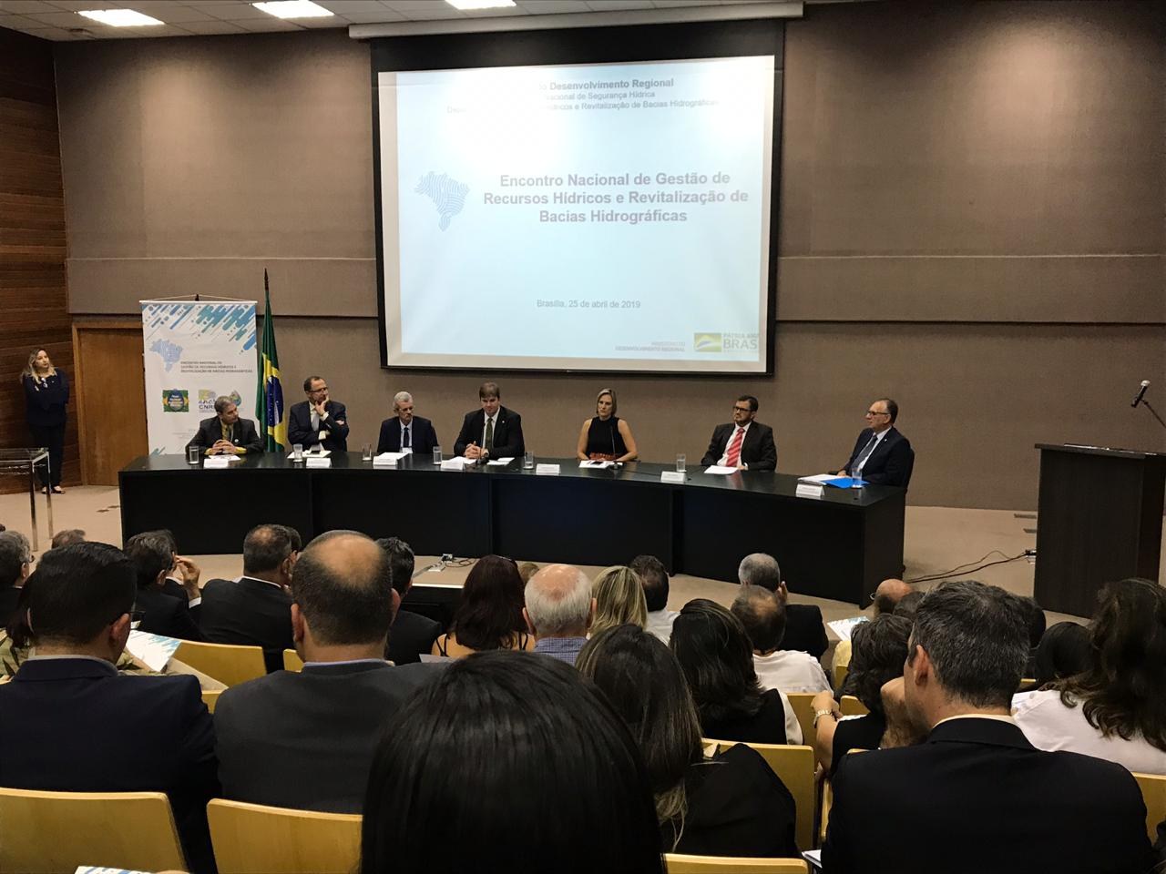 Água Doce reúne gestores estaduais em Brasília