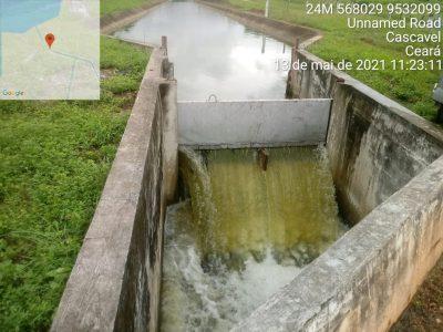 Estação de Bombeamento de Itaiçaba reforça o Sistema Metropolitano com água da chuva